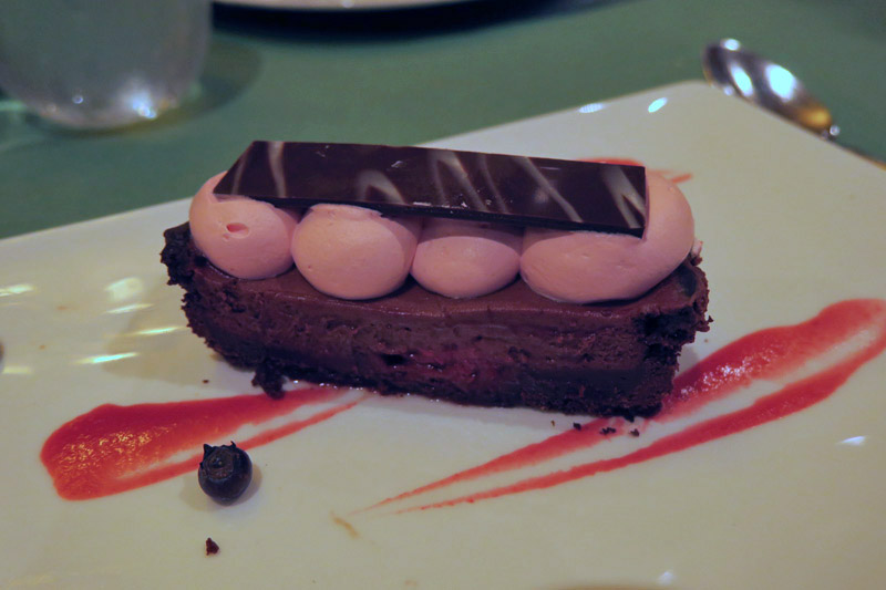 Elsa's Chocolate and Raspberry Tart