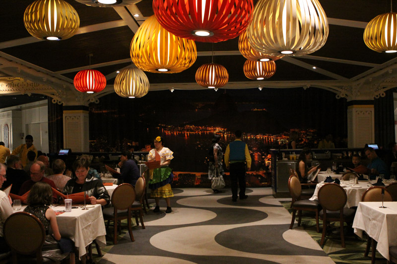 Restaurante Carioca's no Disney Magic