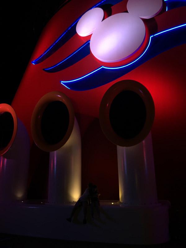 Disney Dream a noite