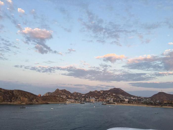 Linda paisagem do Cabo San Lucas