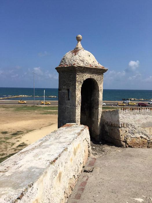 Passeio pelo Forte em Cartagena