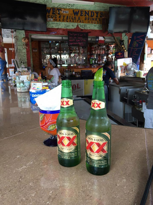 Cervejas em Cozumel