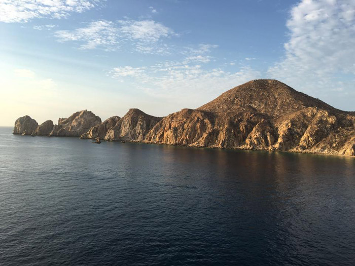 Cabo San Lucas com um dia lindo