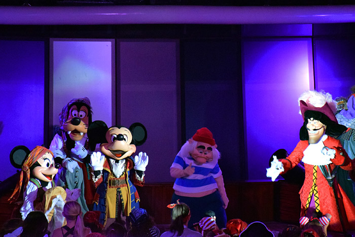Festa do Pirata no Disney Magic