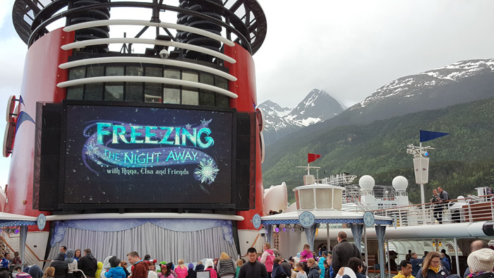 Festa de Frozen: Freezing the Night Away