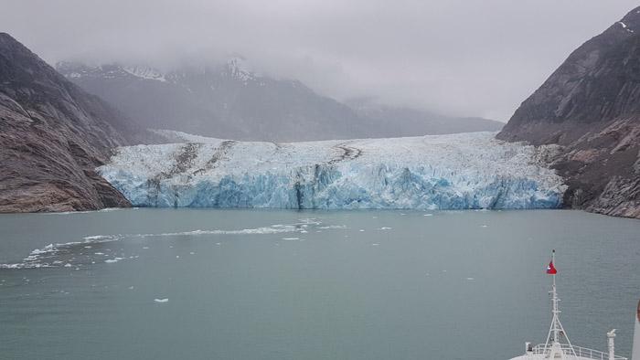 Geleira Endicott, Alasca