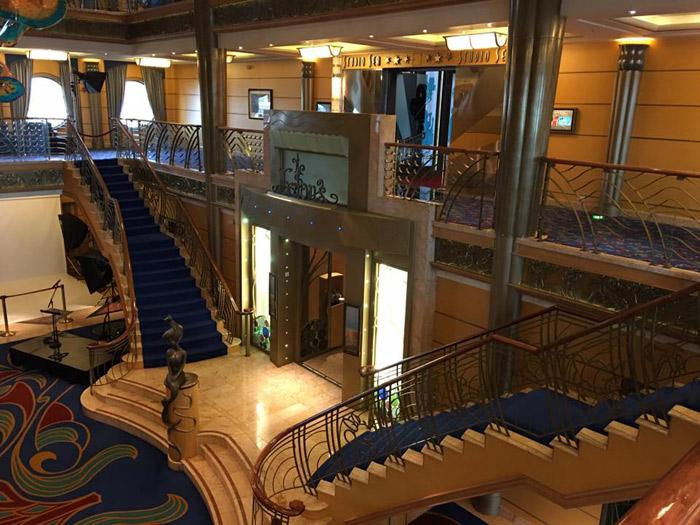 Lobby visto de cima