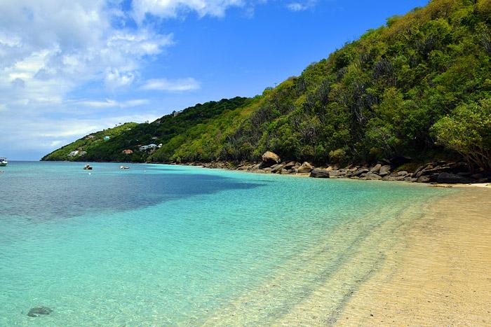 Magen's Bay, em St Thomas