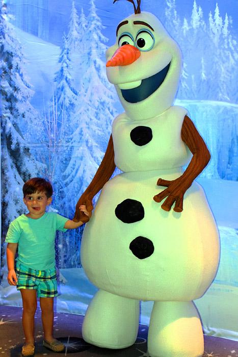 Adorando o Olaf