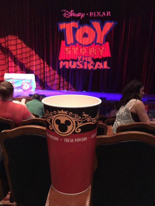 Show Toy Story Musical no Disney Wonder