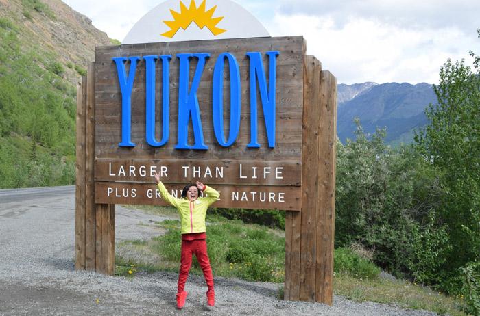 Chegando em Yukon, Alasca
