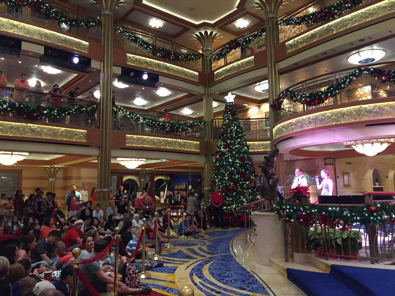 Cruzeiro de Natal no Disney Dream