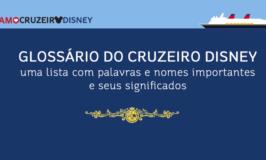 Glossário do Cruzeiro Disney