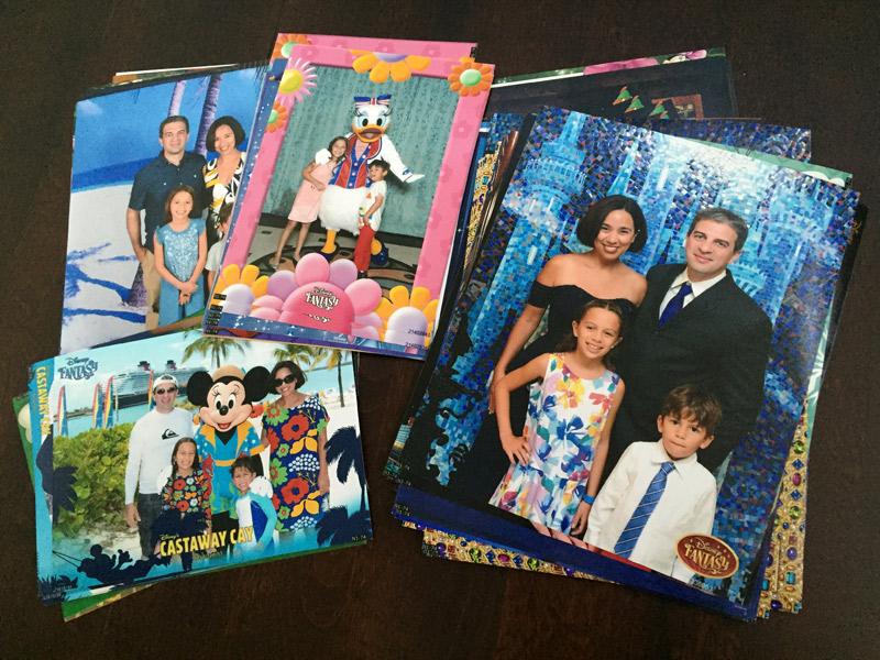Todas as nossas fotos impressas do Disney Fantasy