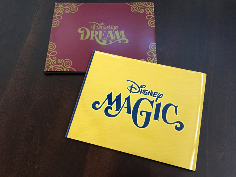 Pacotes de fotos nos cruzeiros Disney: Nossos photobooks do Disney Magic e Disney Dream