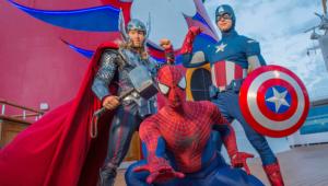 Cruzeiros Marvel 2018 saindo de Miami anunciados