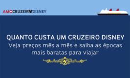 Quanto custa um cruzeiro Disney?
