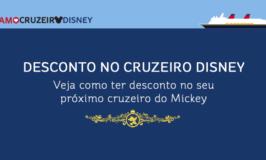 Como ter desconto no Cruzeiro Disney
