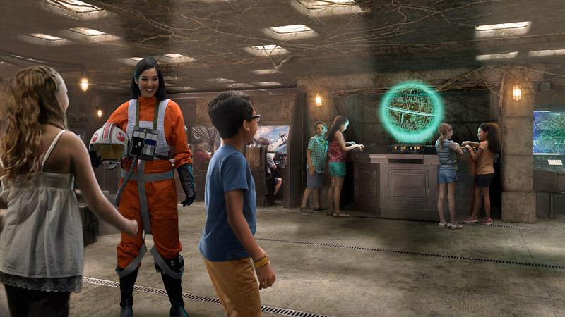 Novidades do Disney Fantasy: nova área Star Wars