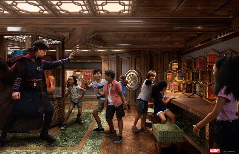 Novidades do Disney Fantasy: nova área Marvel