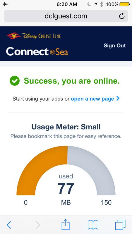 Utilização da internet no navio