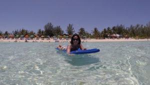Temperatura do mar nas Bahamas mês a mês