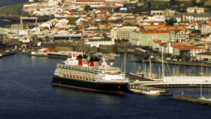 Disney Magic em Ponta Delgada, Portugal
