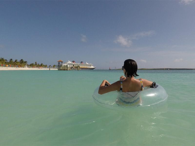 10 praias pra conhecer em um cruzeiro da Disney Castaway Cay