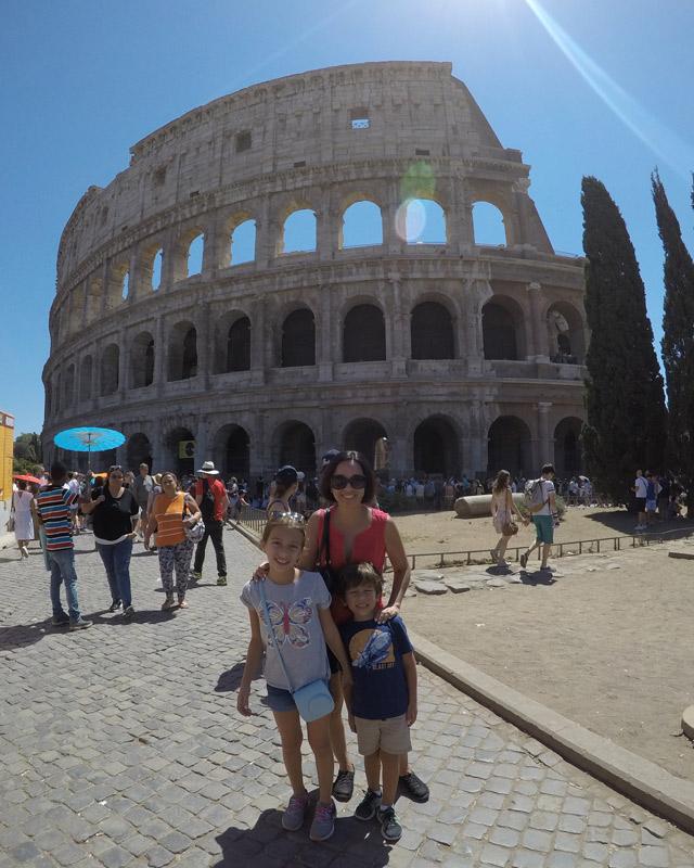 Passeios em Civitavecchia: Coliseu de Roma