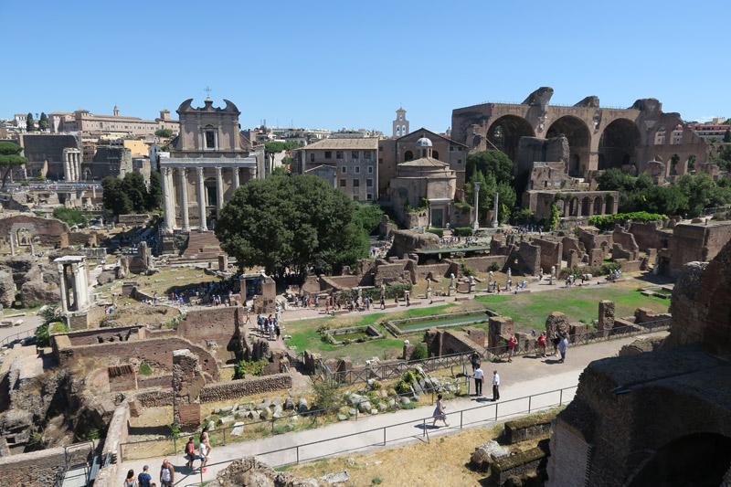 Passeios em Civitavecchia: Forum Romano