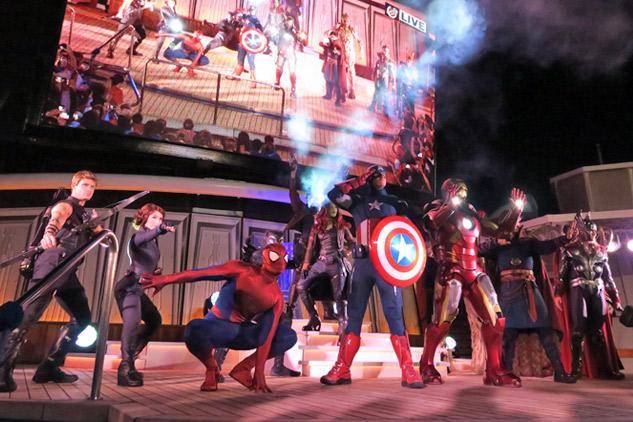 Cruzeiros Disney 2020: cruzeiro Marvel