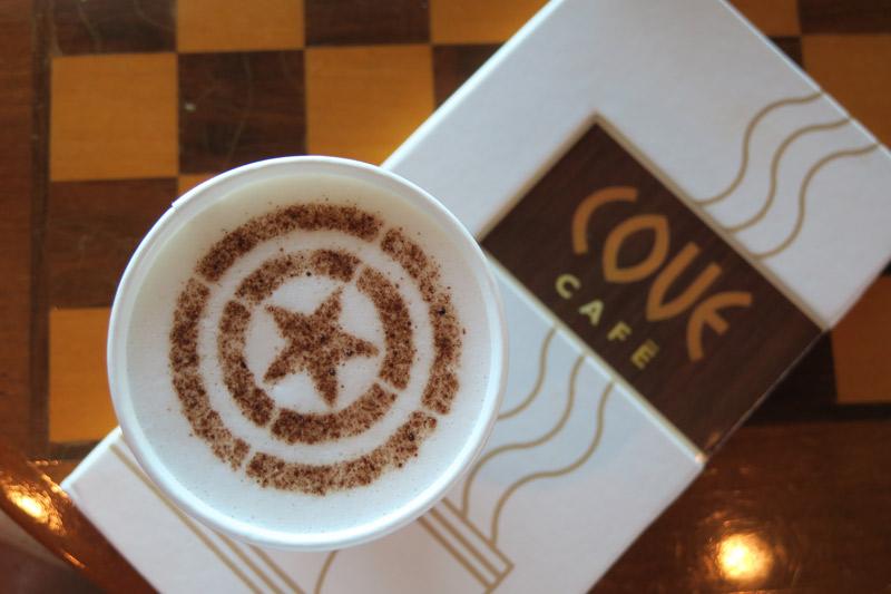 Bebidas no cruzeiro Disney: cafés