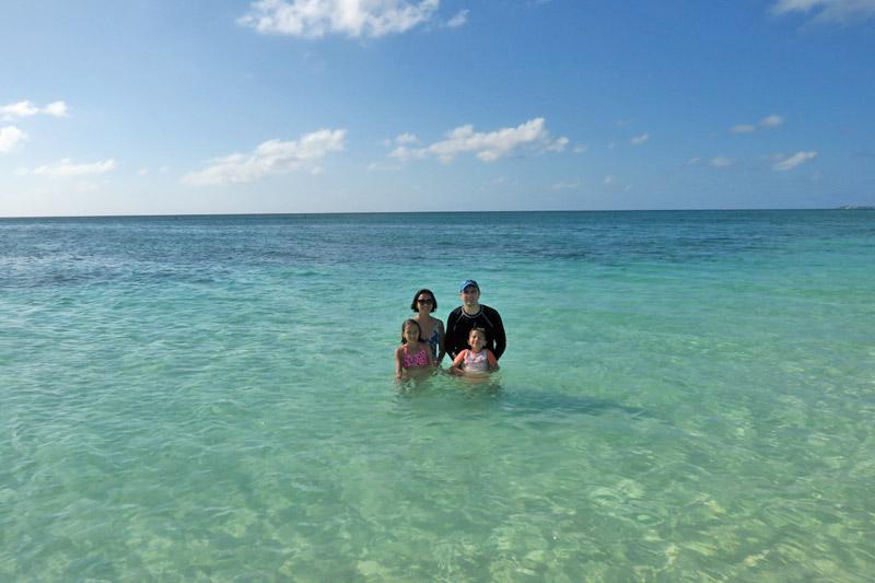 passeio nas Ilhas Cayman: praia em Grand Cayman