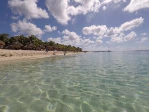 Praia maravilhosa do Nachi Cocom em Cozumel