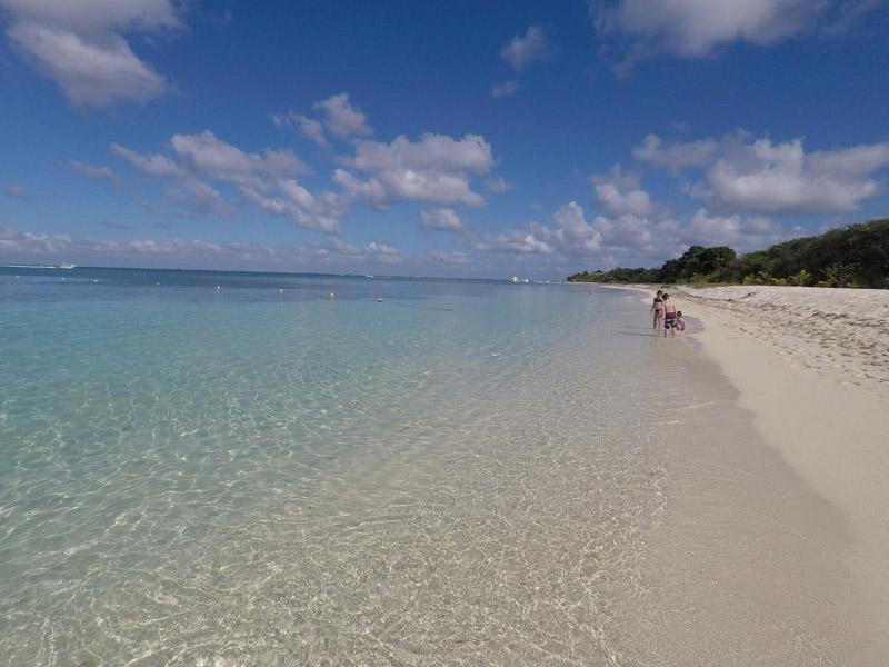 Praia maravilhosa no Nachi Cocom em Cozumel