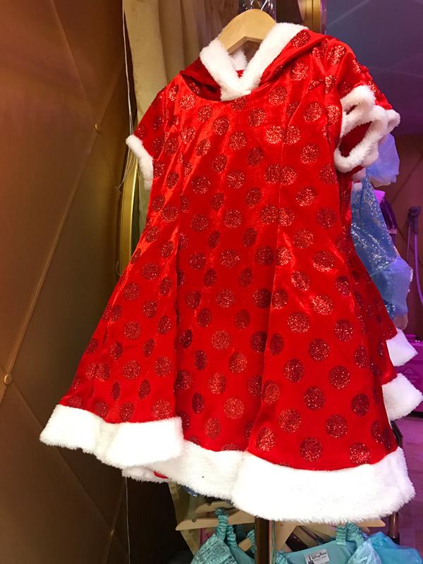 Cruzeiro Disney de Natal: vestido especial na Bibbidi Bobbidi Boutique
