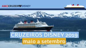 Cruzeiros da Disney no verão de 2019