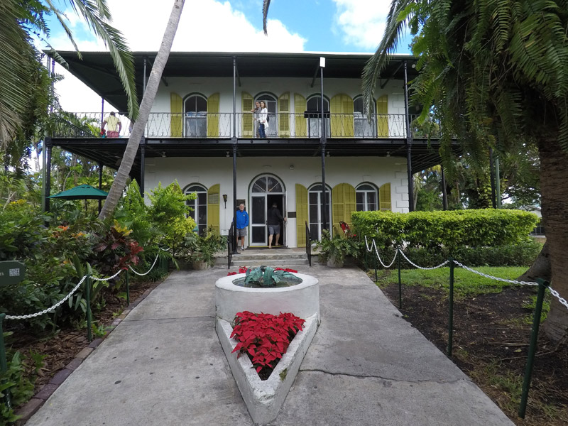 O que fazer em Key West: casa de Ernest Hemingway
