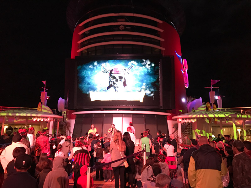 Cruzeiro Disney 5 noites Baja: festa dos piratas