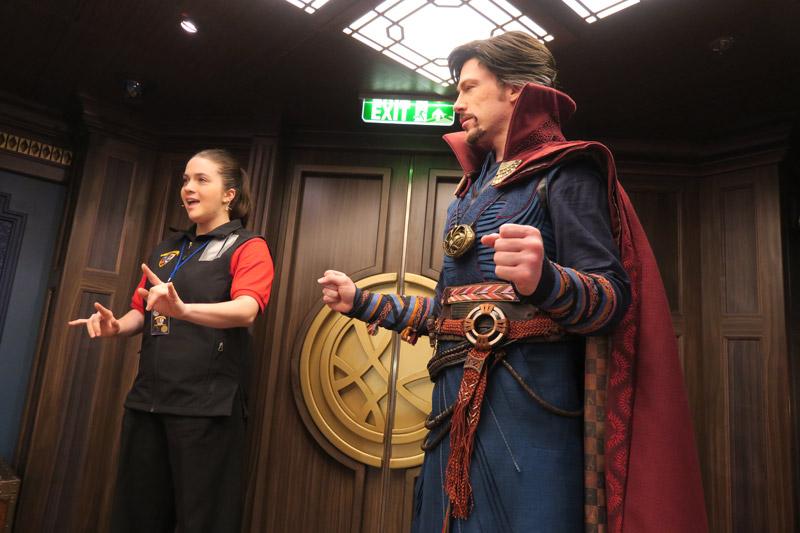 Disney Fantasy depois da reforma: nova área Marvel com o Doutor Estranho