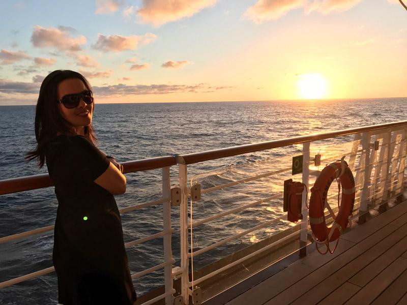 Fernanda no Cruzeiro Disney 5 noites Baja