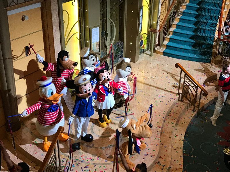 Festa no Cruzeiro Disney 5 noites Baja