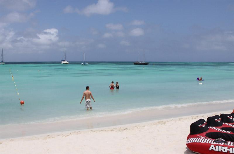 10 praias pra conhecer em um cruzeiro da Disney - Palm Beach Aruba