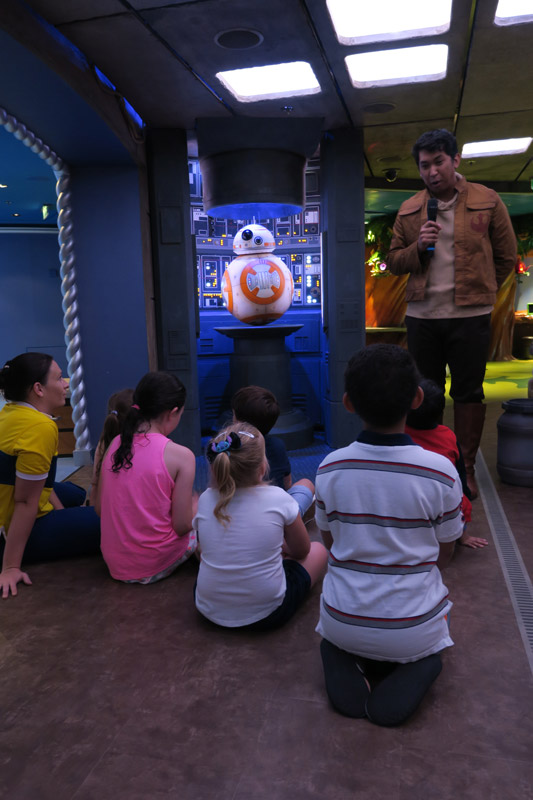 Disney Fantasy depois da reforma: nova área Star Wars no clube infantil Oceaneer Club
