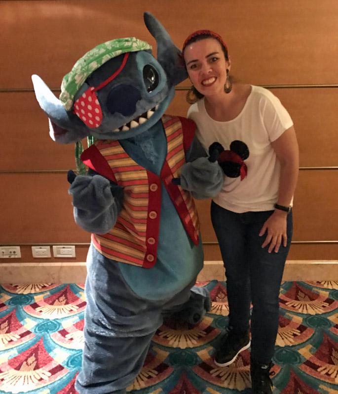 Cruzeiro Disney 5 noites Baja: Fernanda e Stitch
