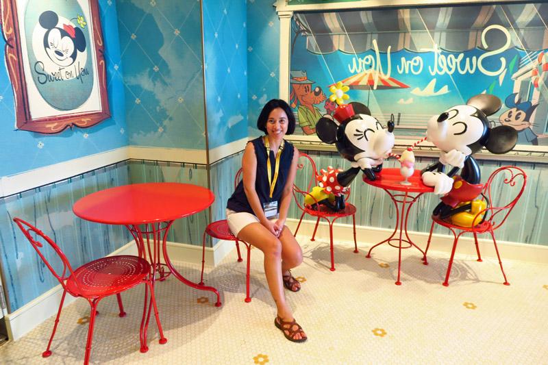 Disney Fantasy depois da reforma: nova loja de doces Sweet on you