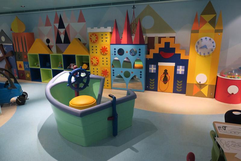 Creche It's A Small World Nursery  no Disney Fantasy