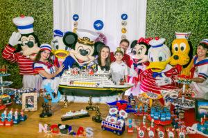 Festa de aniversário com tema Disney Cruise