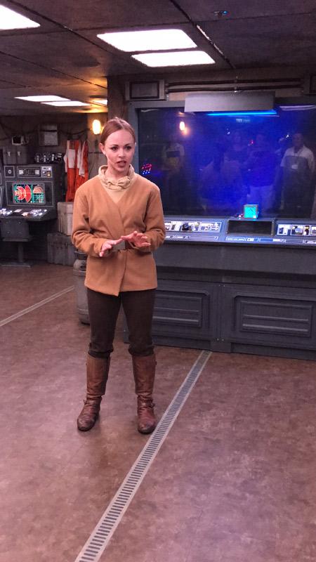 Atividade Star Wars para adultos durante o Cruzeiro de 11 noites no Disney Fantasy