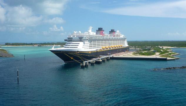 Disney Fantasy em Castaway Cay